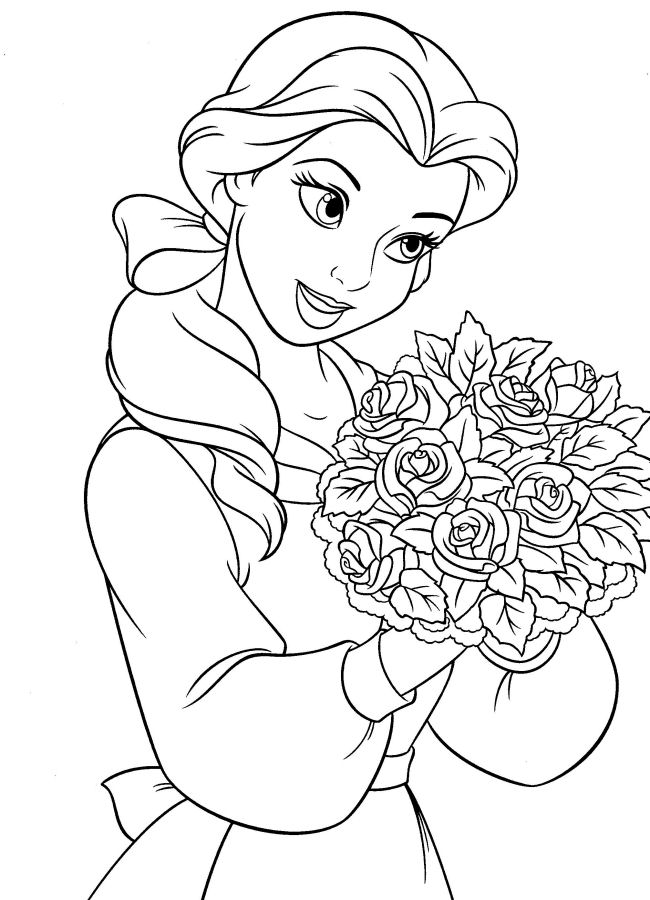 Beauty and the beast coloring pages to download and print ...Beauty And The Beast Coloring Page Beast