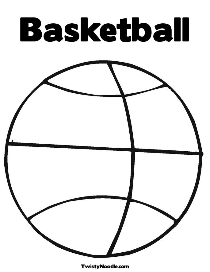 Basketball coloring pages to download
