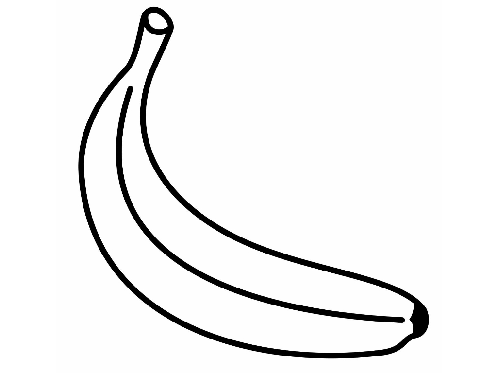 bunch of banana coloring pages - photo#35