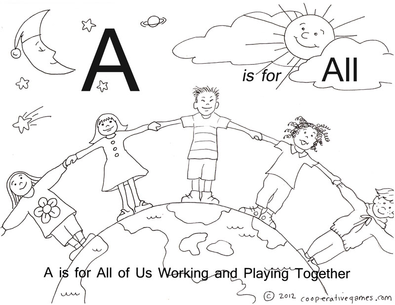 students working together coloring pages - photo#8