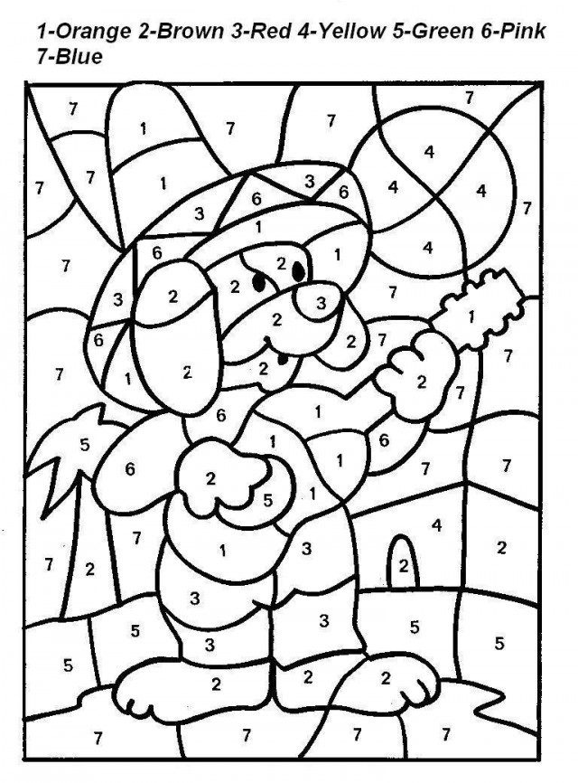 Addition Coloring Pages Coloring – Addition Coloring Worksheets Free