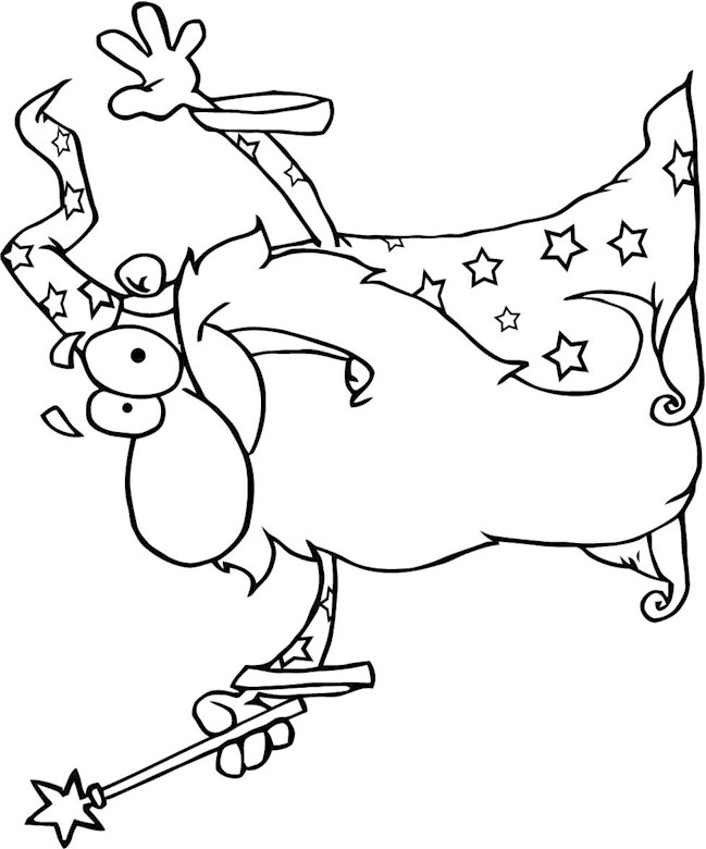 printable coloring pages wisards - photo#13