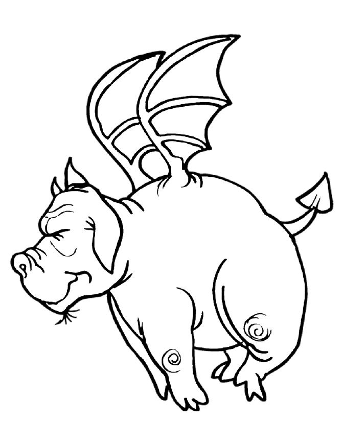Cartoon dragon coloring pages download