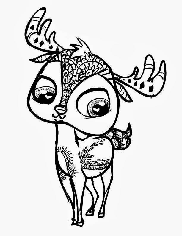 Cuties Coloring Pages to download