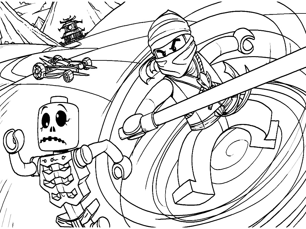 coloring pages lego bionicle on