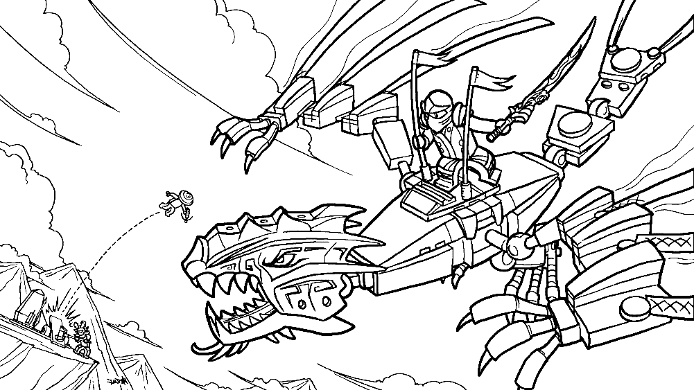 lego bionicle coloring pages - lego ninjago coloring pages to download and print for free