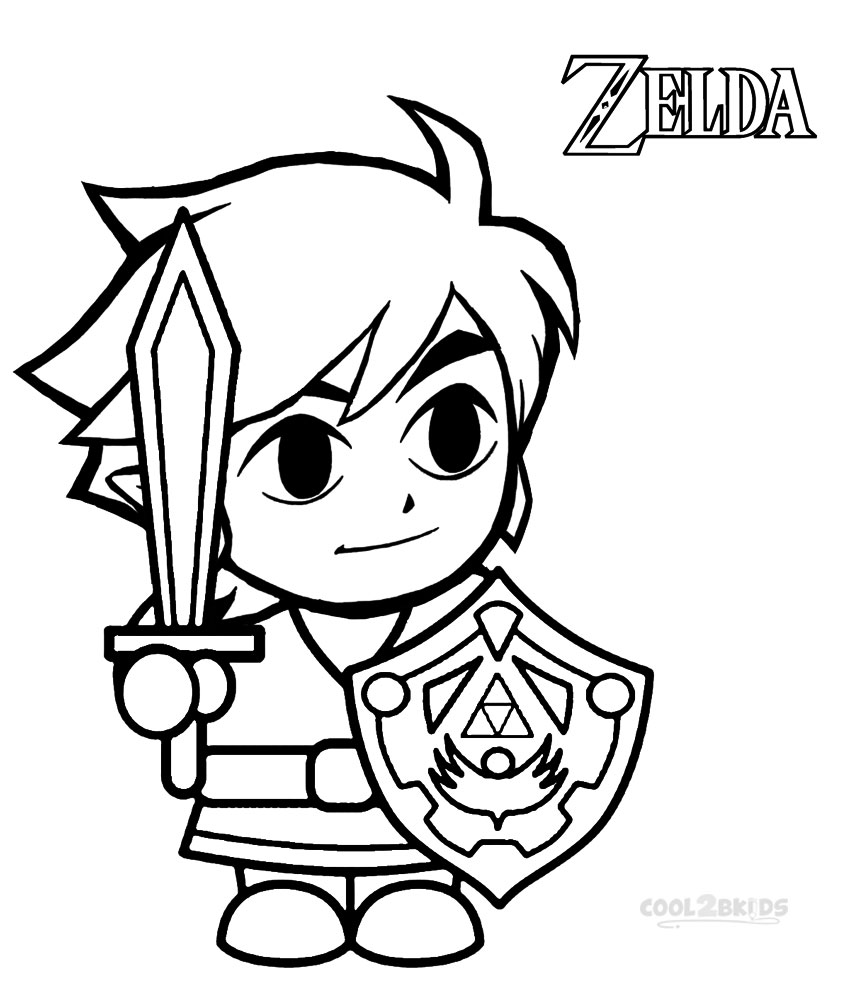 Bakugan painting pages - Zelda Coloring Pages