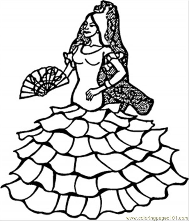 Spanish coloring pages to download and print for free