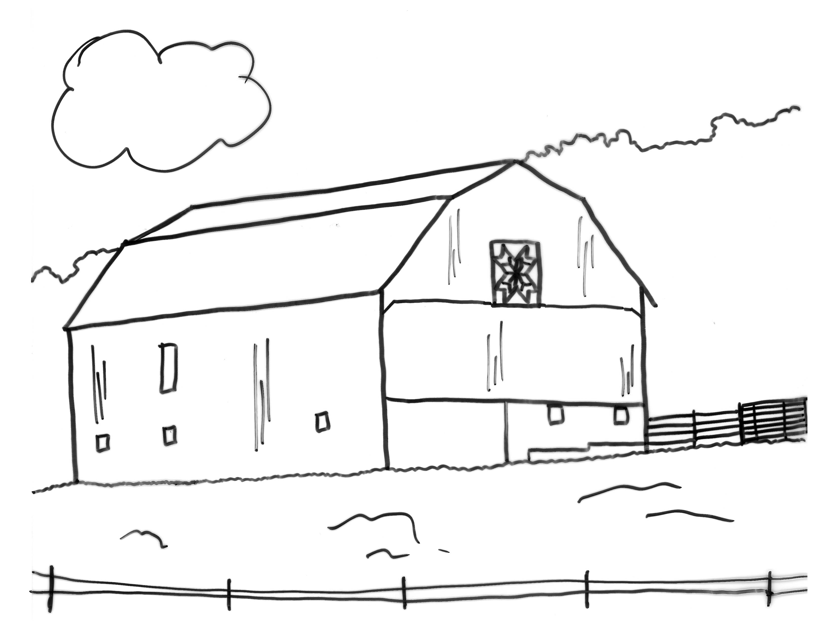 Barn Coloring Pages Download And Print For Free County Fair Coloring Pages