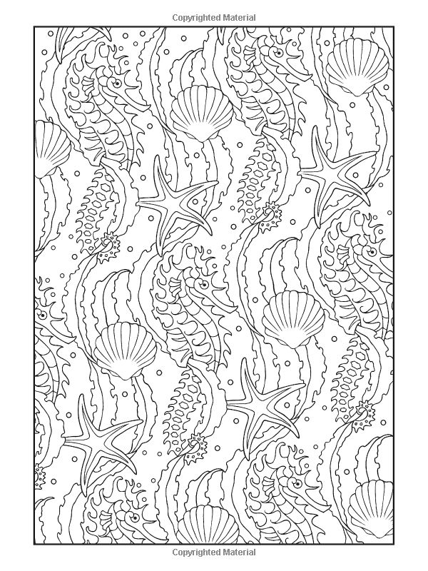 Pattern Animal Coloring Pages