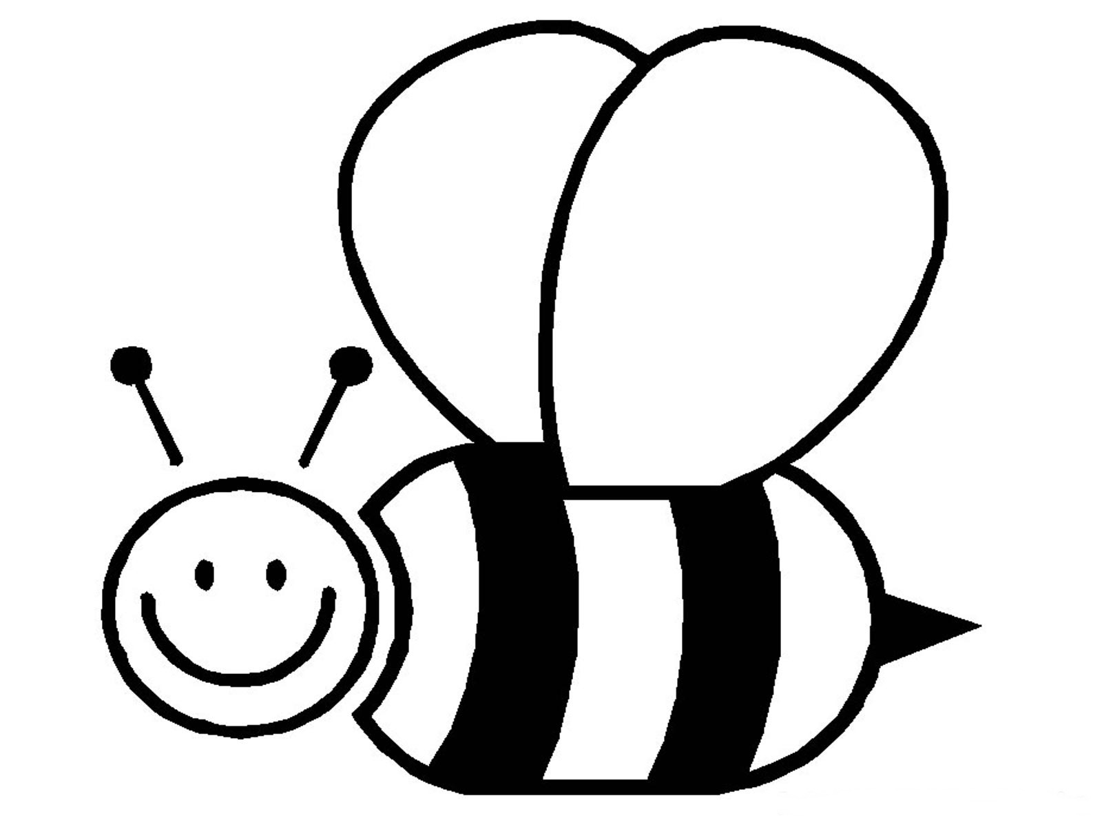 cute bumble bee coloring pages - Bumble Bee Coloring Pages
