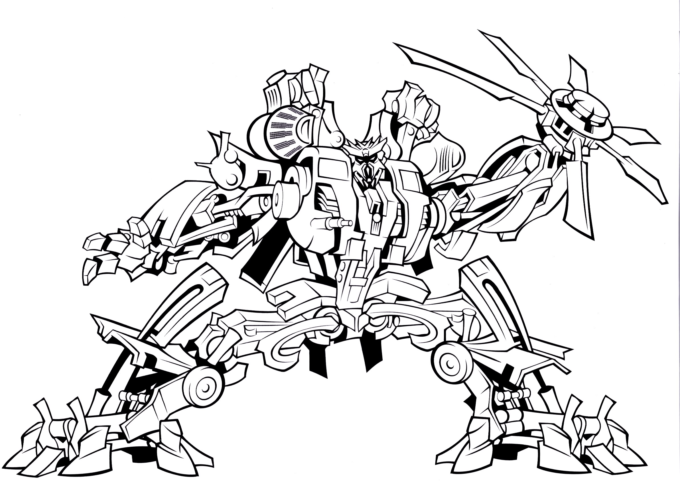 Decepticon coloring pages download