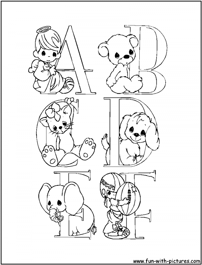 alphabet coloring pages download - photo#8