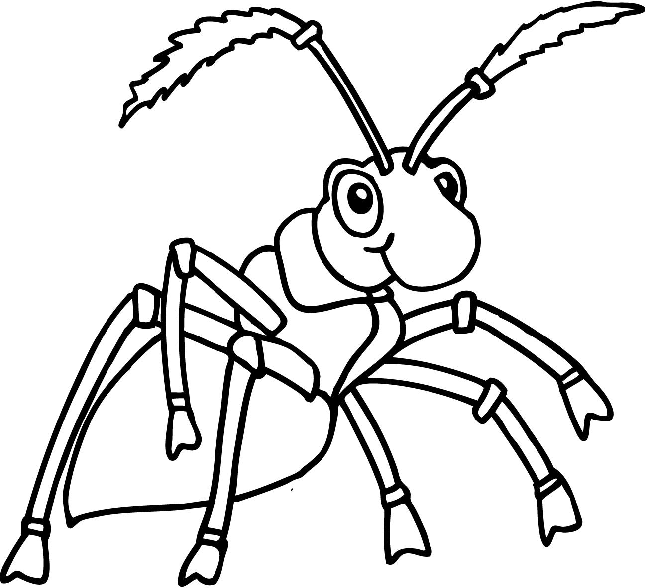 Поздравлением стихах, муравей картинка для детей раскраска