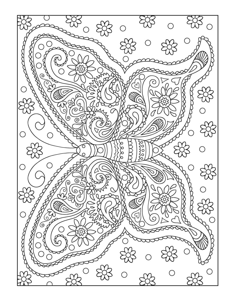 Grown Up Coloring Pages To Download And Print For Free
