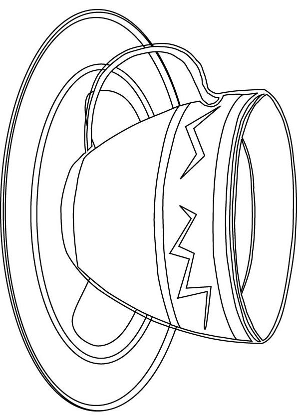Glass Cup Coloring Page Pics For > Glass Cu...