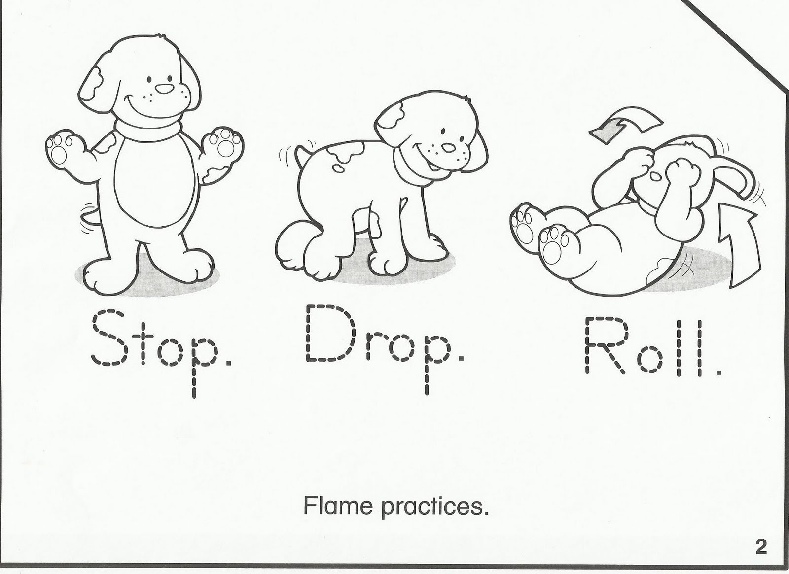 childrens fire safety coloring pages - photo#12