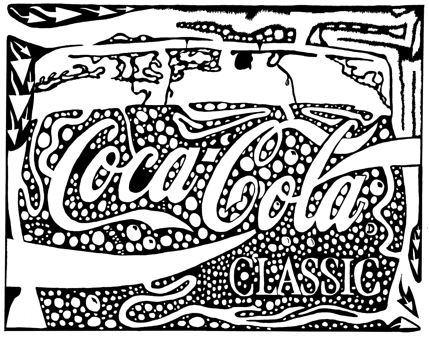 Coca Cola Coloring Pages Print