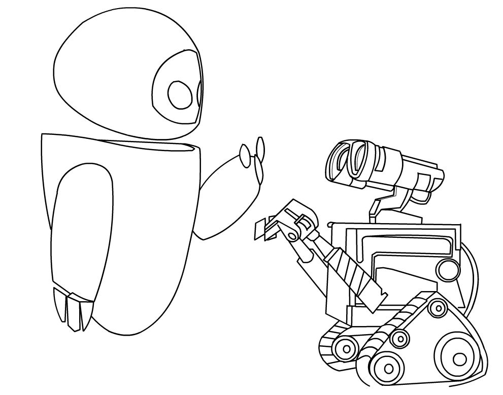 walle free coloring pages - photo#18