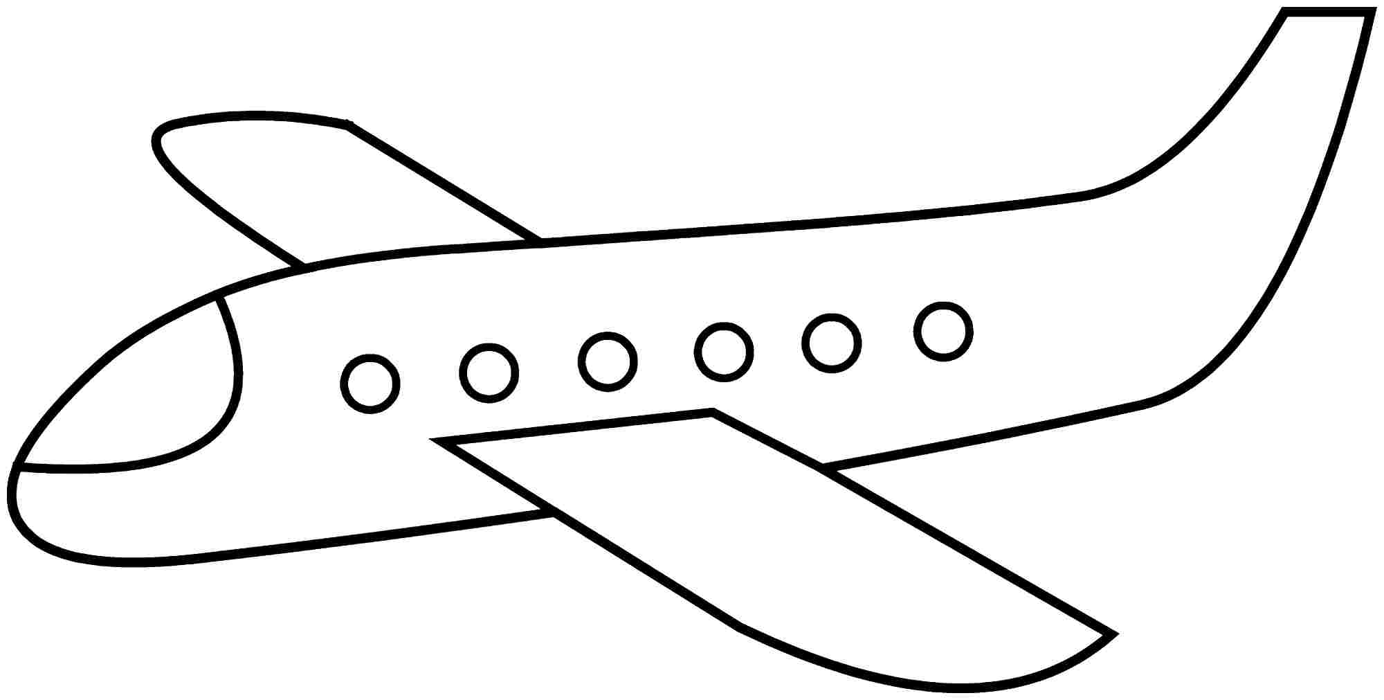 plane coloring pages to download and print for free