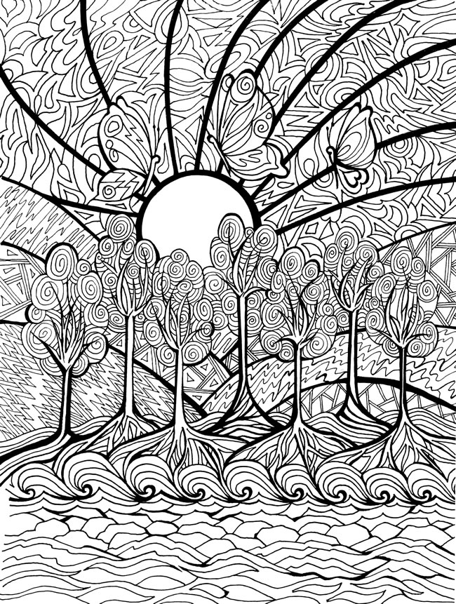 Dover Coloring Pages To Download And Print For Free
