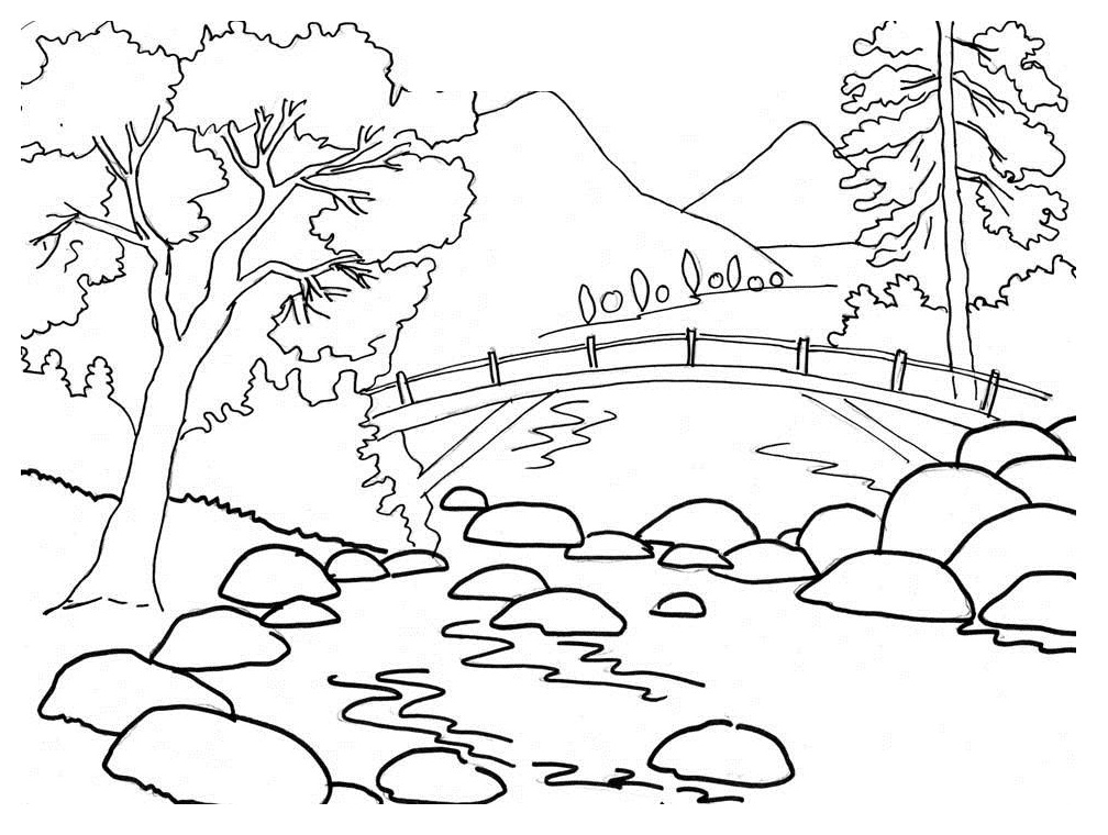 hunter mountain mountain coloring page coloring pages mountain