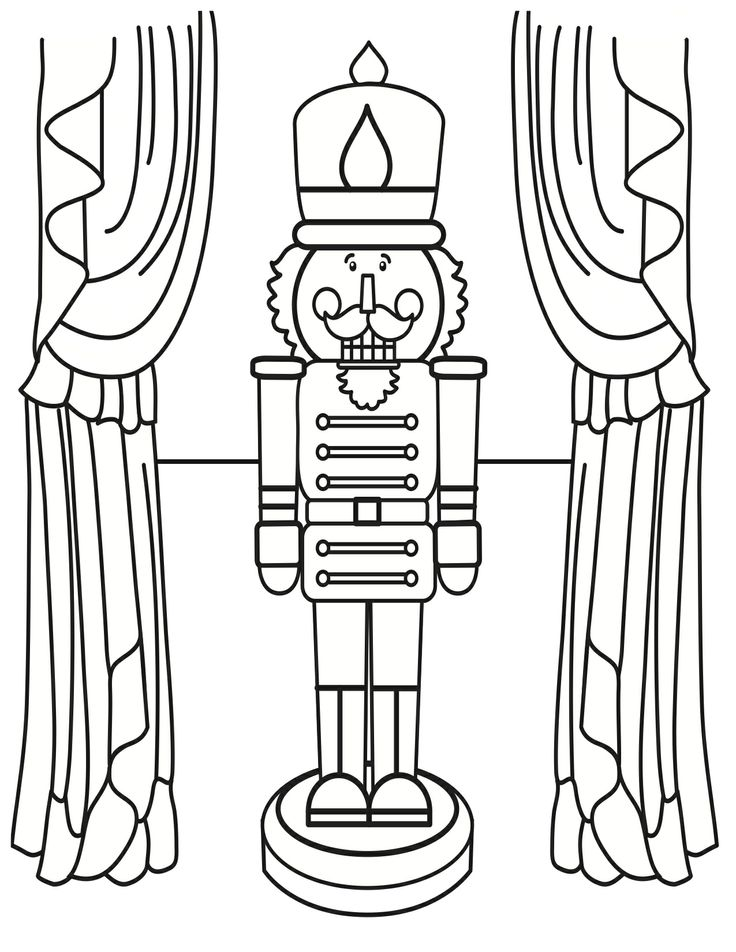 It is an image of Crafty Nutcracker Worksheets Printable