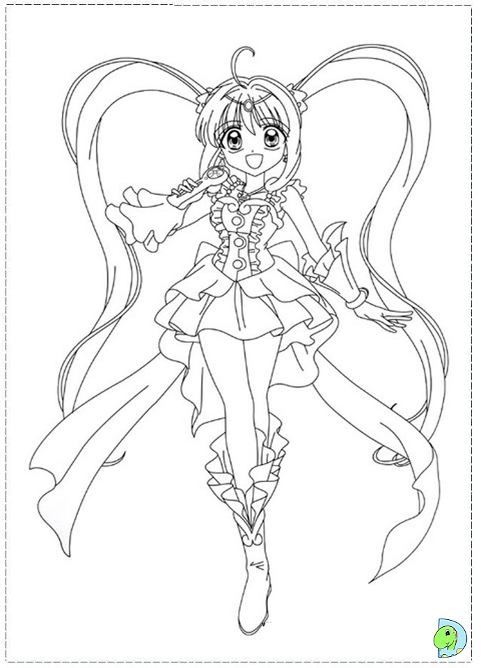 mermaid melody free coloring pages - photo#4