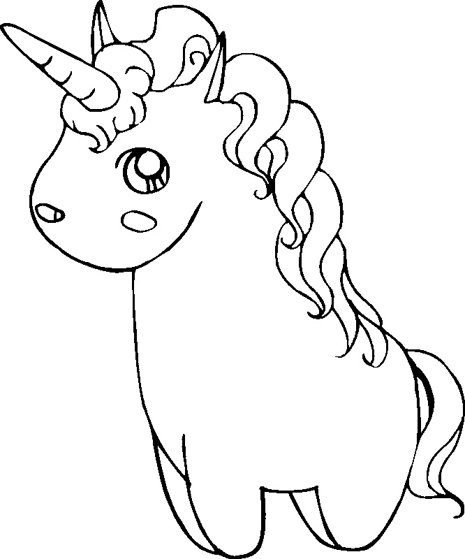 unicorn coloring pages printables - photo#19