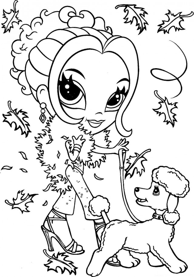 lisa frank free coloring pages - photo#8