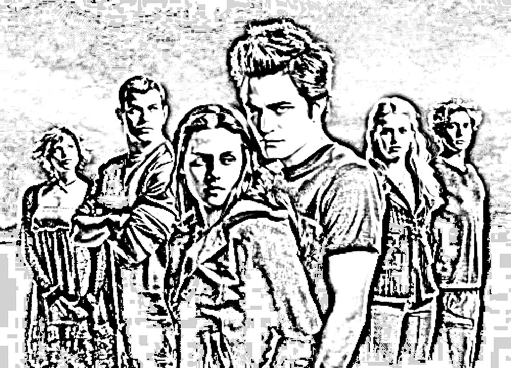 printable twilight coloring pages - photo#35