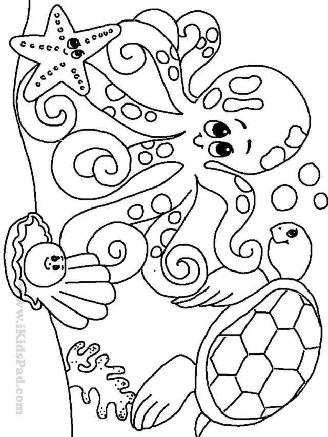 ocean coloring pages to download and print for free. Black Bedroom Furniture Sets. Home Design Ideas