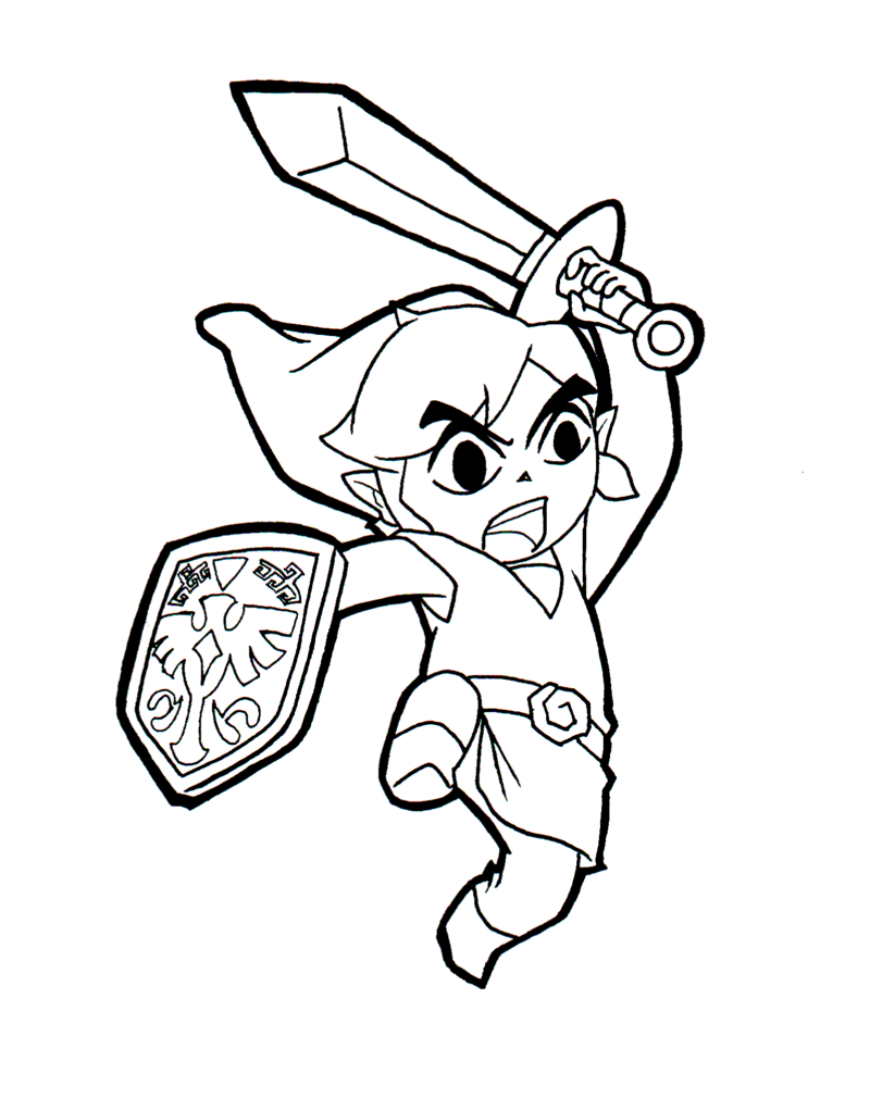 link coloring pages to download and print for free