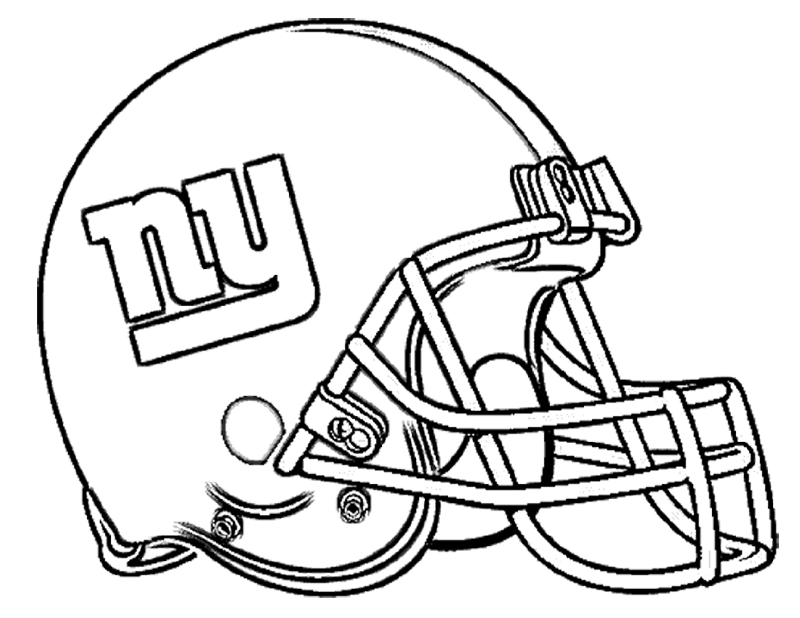 Football Helmet Sheet : Football helmet coloring pages to download and print for free