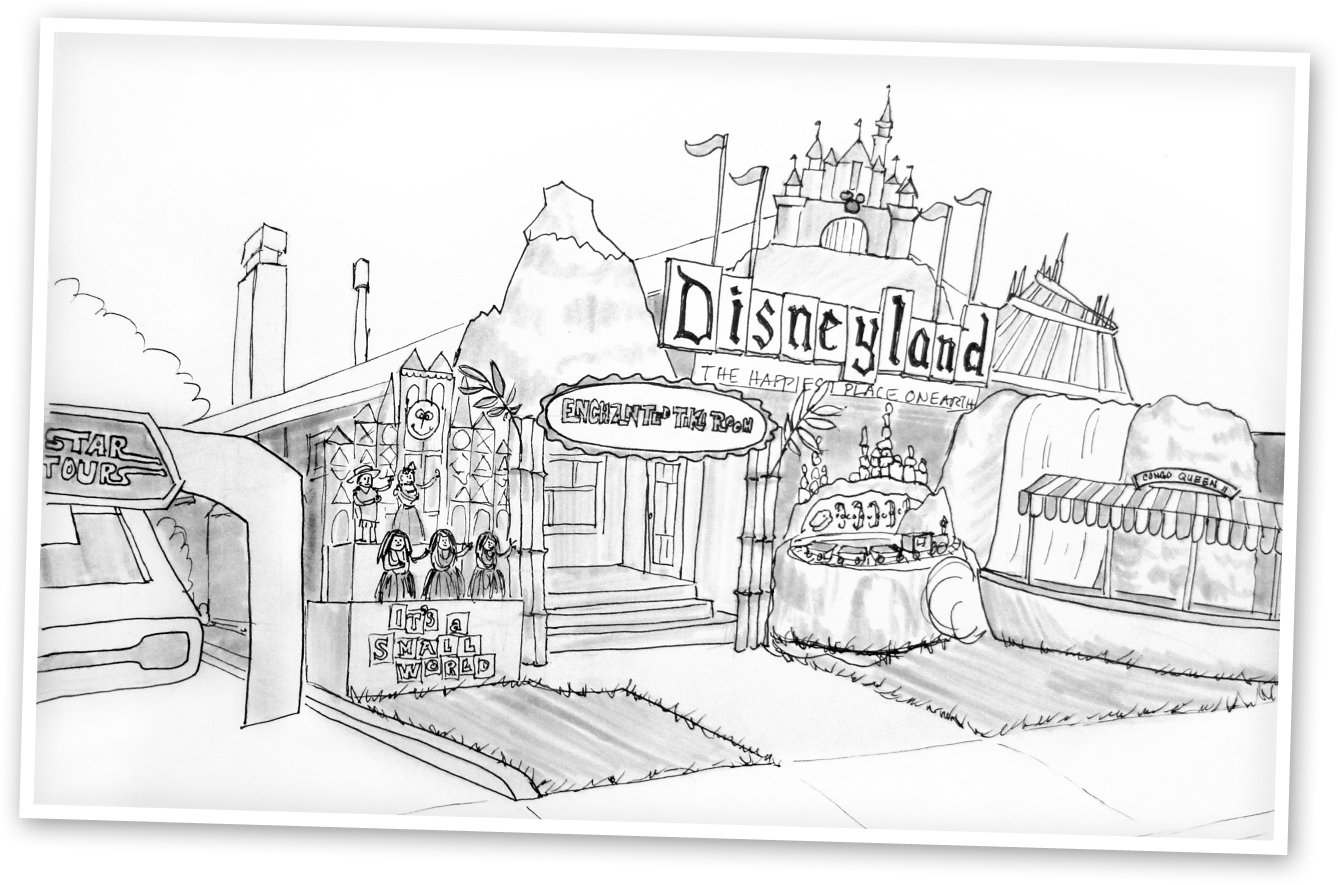disney rides coloring pages | Disneyland coloring pages to download and print for free