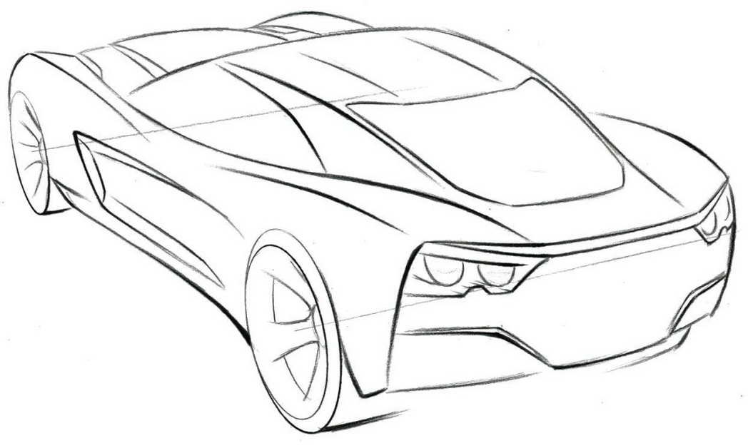 Corvette Coloring Pages To Download And Print For Free Corvette Coloring Pages