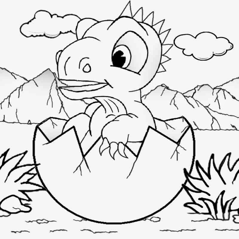 dinosaur coloring pages for kidsdinosaur coloring pages printable decimamas - Picture To Color For Kids