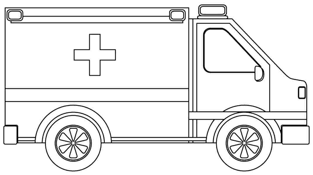 Ambulance Coloring Pages To Download And Print For Free Ambulance Colouring Pages