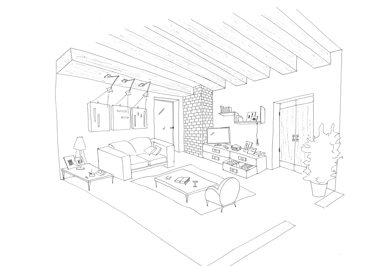 Living room coloring pages download and print for free - Home design sheets ...