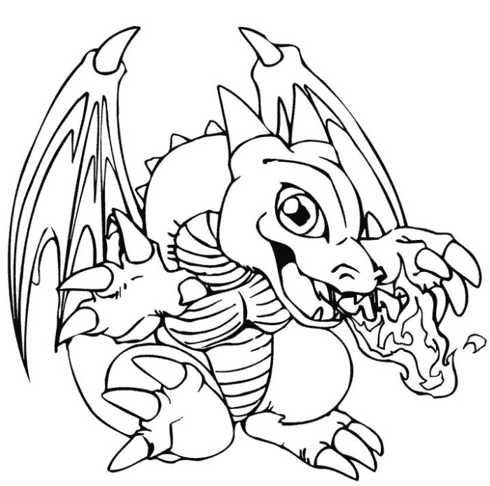 ocean dragon coloring pages - photo#46