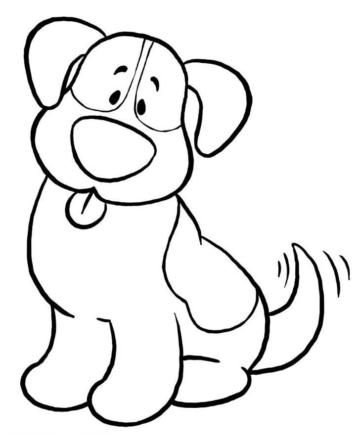 Simple coloring pages to download