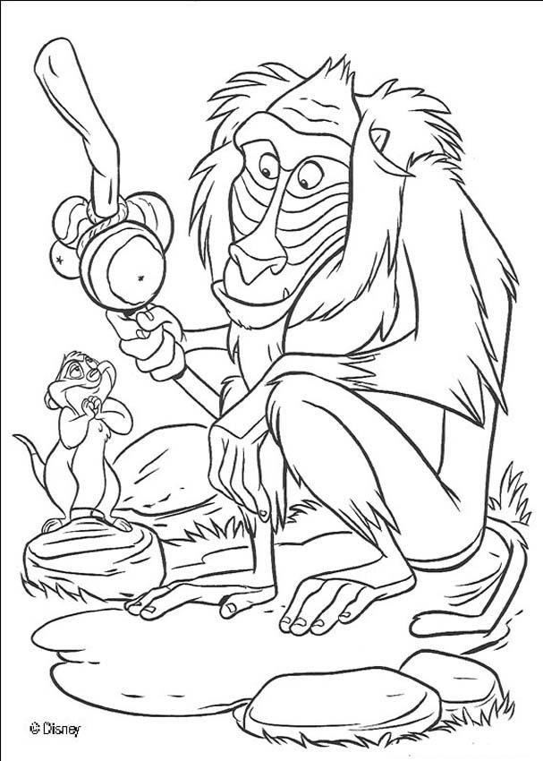 Disney lion king coloring pages download and print for free