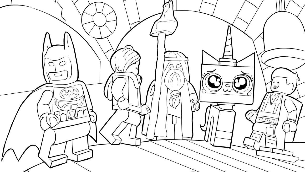 Lego flash coloring pages download and print for free