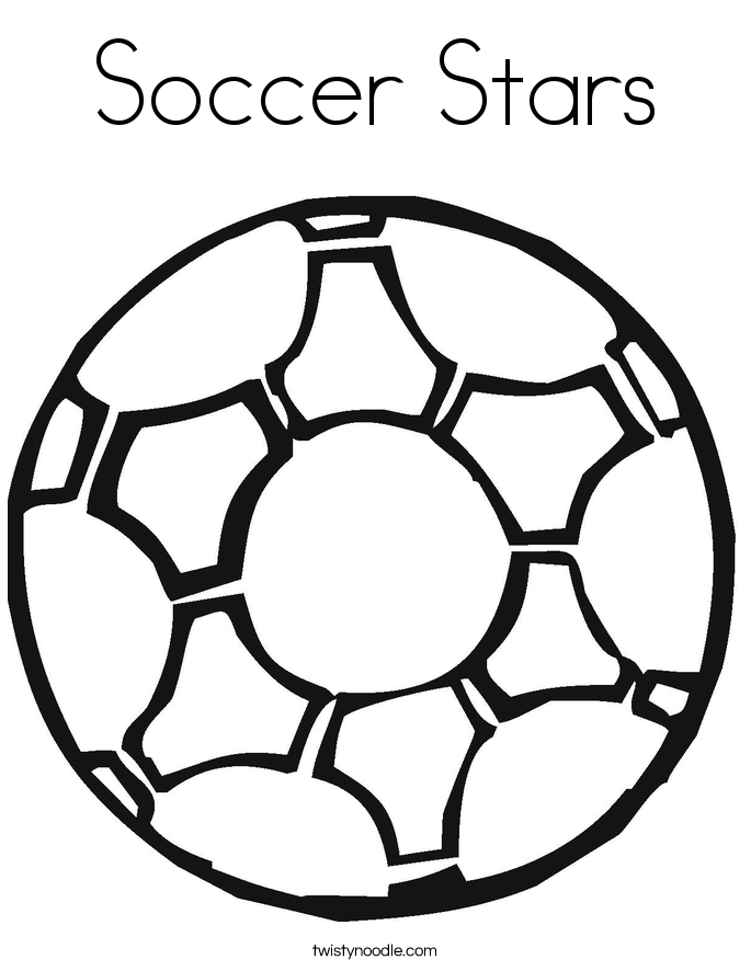 This is an image of Zany Soccer Ball Coloring
