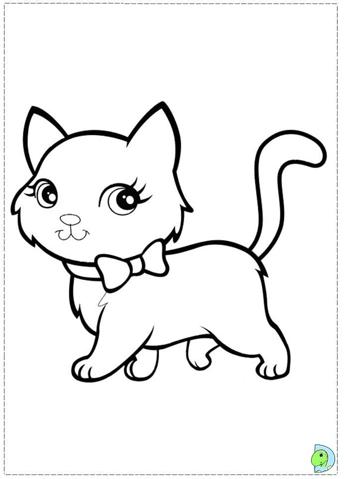 Polly pocket coloring pages to download and print for free - Petit chat dessin ...