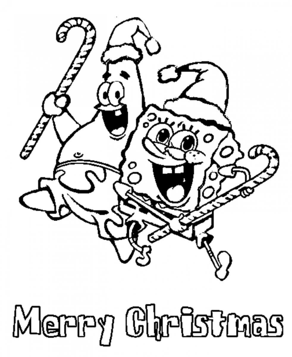 free printable coloring christmas pages - photo#24