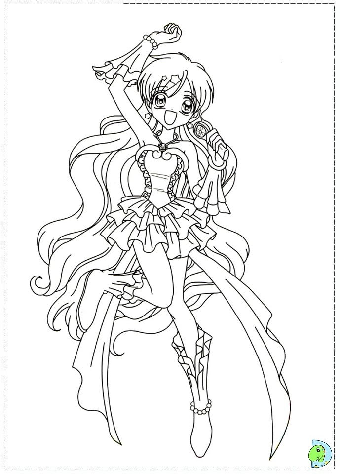 mermaid melody free coloring pages - photo#1