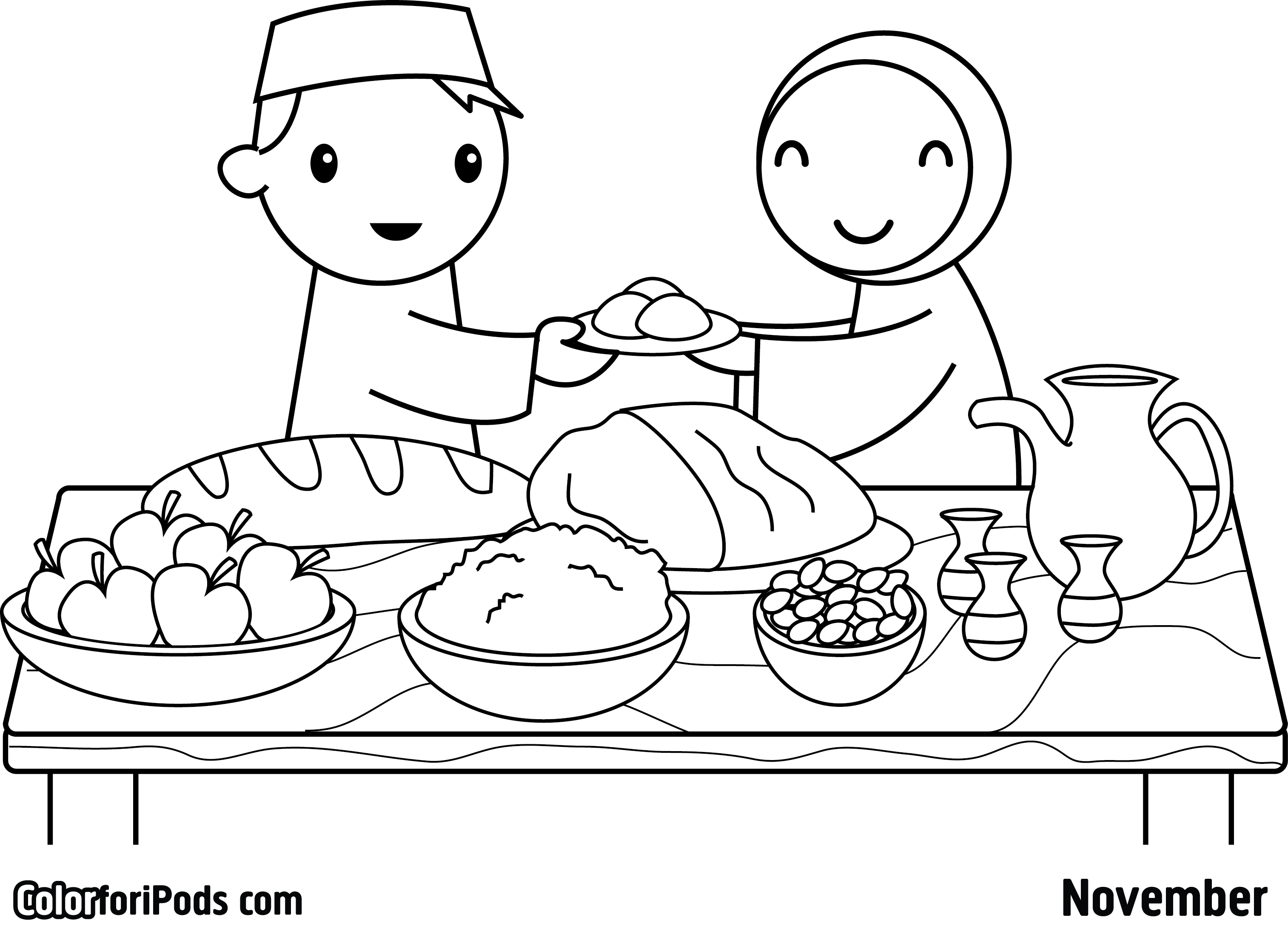 Ramadan coloring pages to download