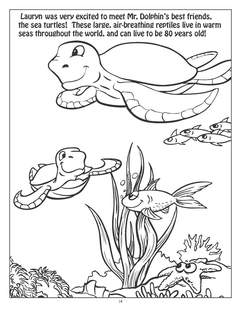 underwater coloring pages to download and print for free