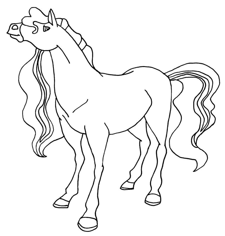 Horseland coloring pages to download